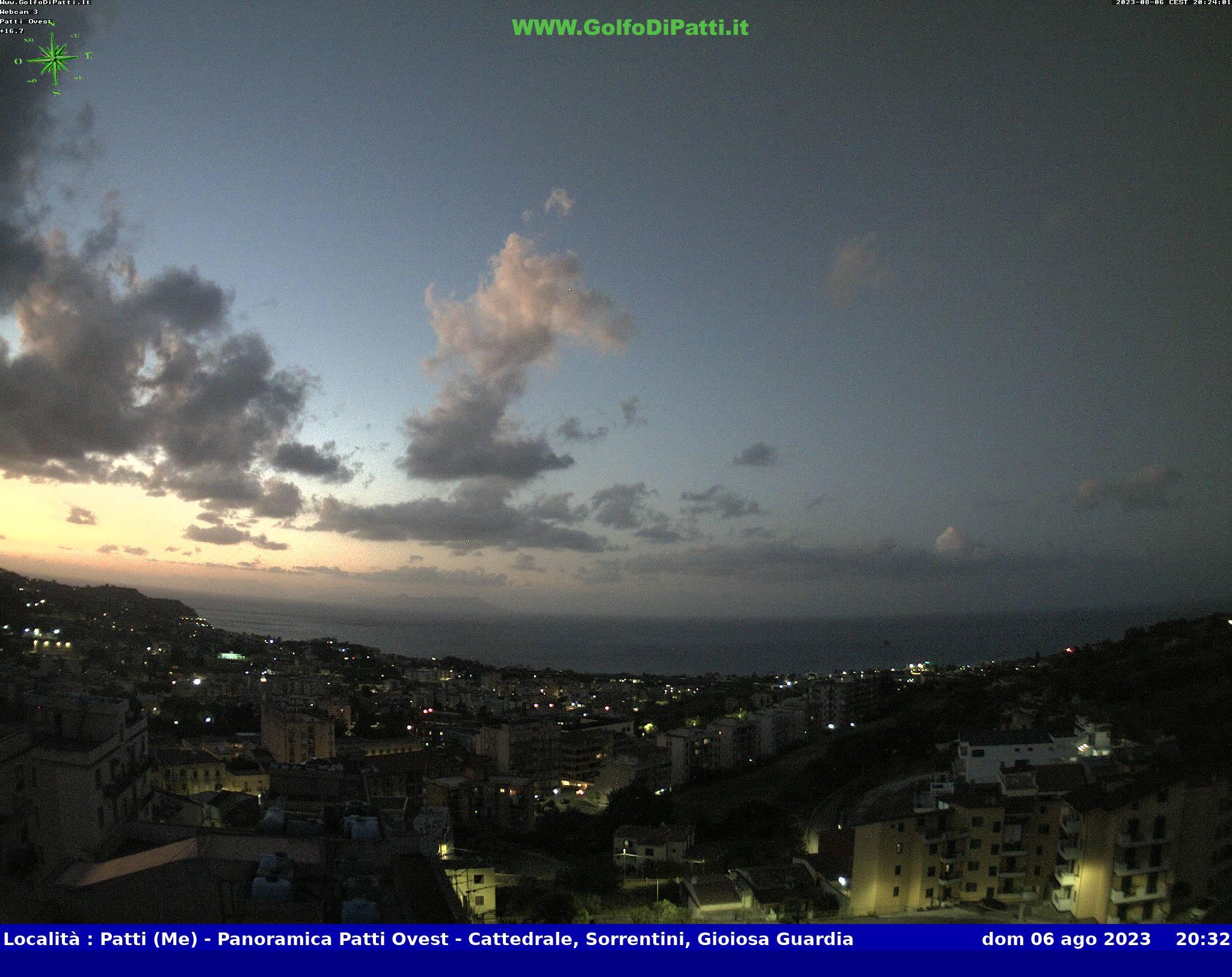 Веб камера острова Сицилия